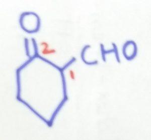 2-oxocyclohexane-1-caraldehyde