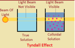 scattering of light by colloidal particles