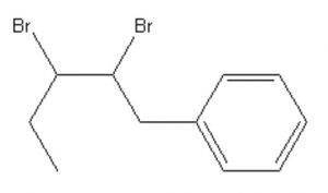 2,3-Dibromo-1-phenylpentane