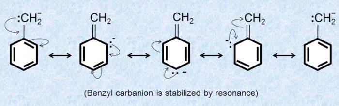 Benzyl carbanion
