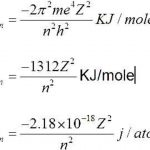 Bohr's Formula