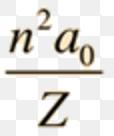 Bohr's Radius