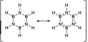 Borazine structure