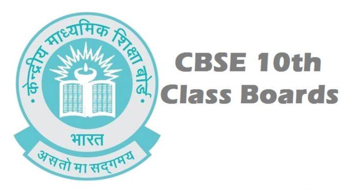 CBSE Class X Examination 2020 Datesheet