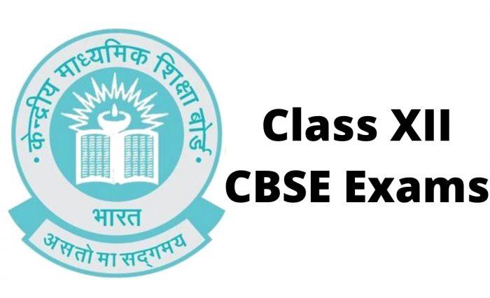 CBSE Class XII Examination 2020 Date Sheet