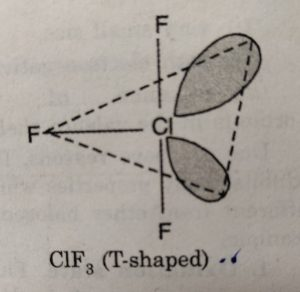 CIF3 (T Shaped)