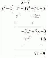 Chapter 1 Polynomials Exercise 2.3