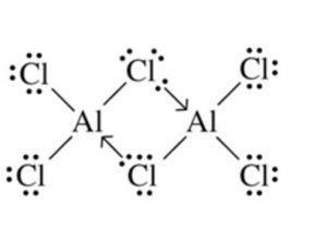 Chlorine bridge structure of AlCl3