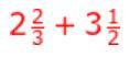 Ex 2.1 Class 7 Maths Question 1