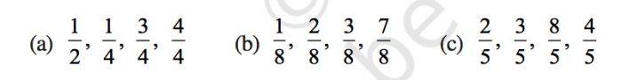Exercise 7.2 Class 6 Chapter 7 Maths