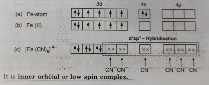 [Fe(CN)6]4-