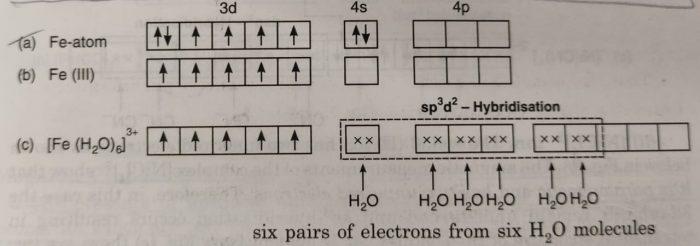 [Fe(H2O)6]3+
