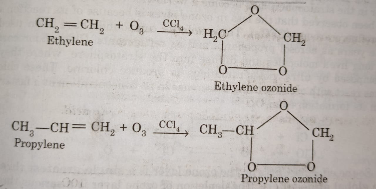Formation of ozonides