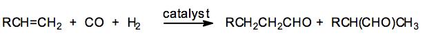 Hydroformylation of olefins