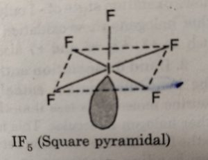 IF5 (Square pyramidal)