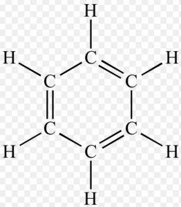 Kekule structure of benzene