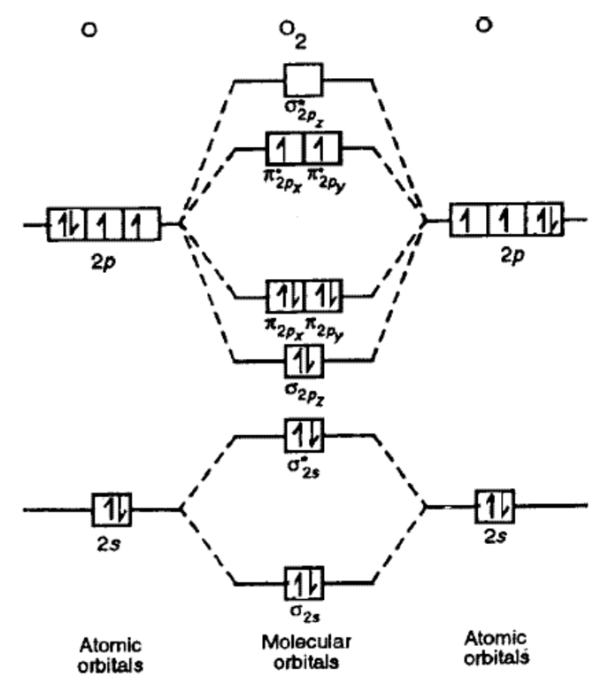O2 Molecular Orbital Energy Diagram Information Of Wiring Diagram