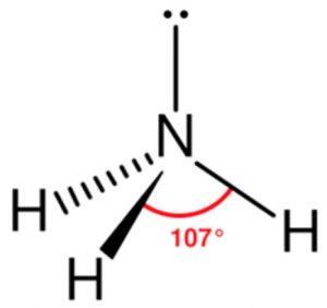 NH3 molecule