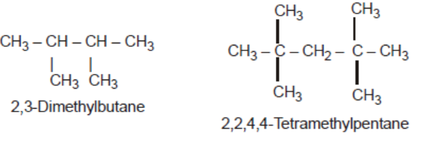 Naming same alkyl group at different position