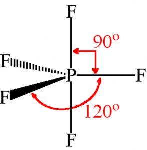 PF5 molecule