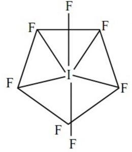 Pentagonal bipyramidal