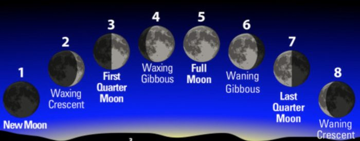 Phases of moon-2