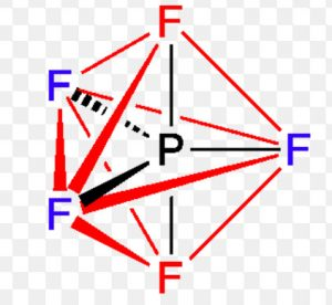 Phosphorus pentafluoride molecule