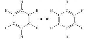 Resonating structure of benzene