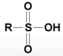 Sulphonic acid group
