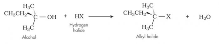 base catalysed dehydrohalogenation of alkyl halides