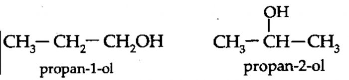 example of structural isomerism