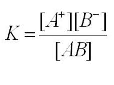 ionisation constant