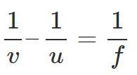 lens formula